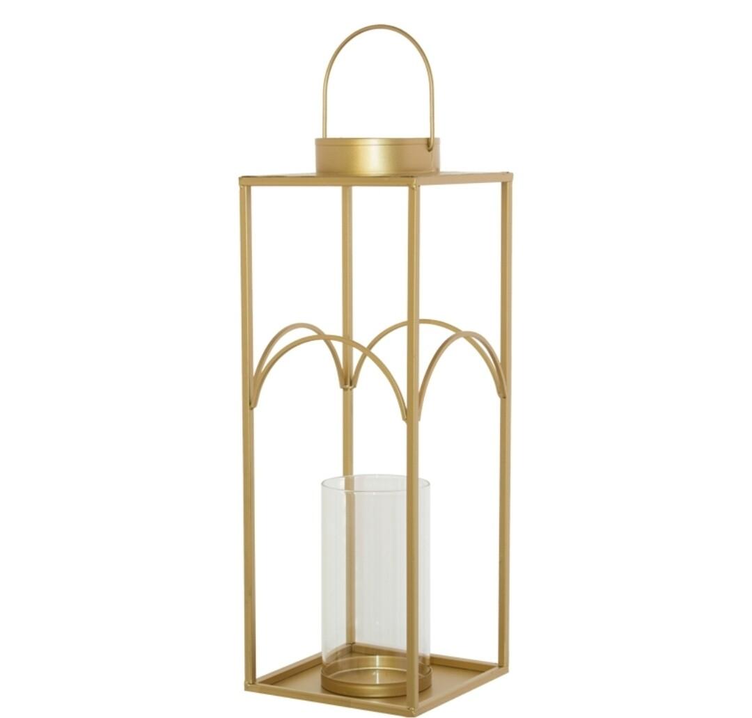 Luna Gold Lantern