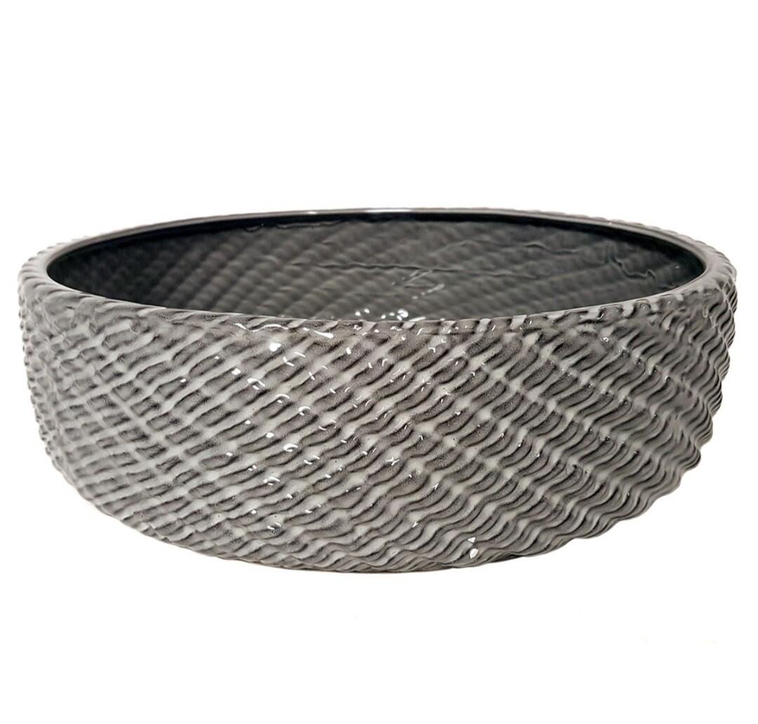 Grey Rope Bowl