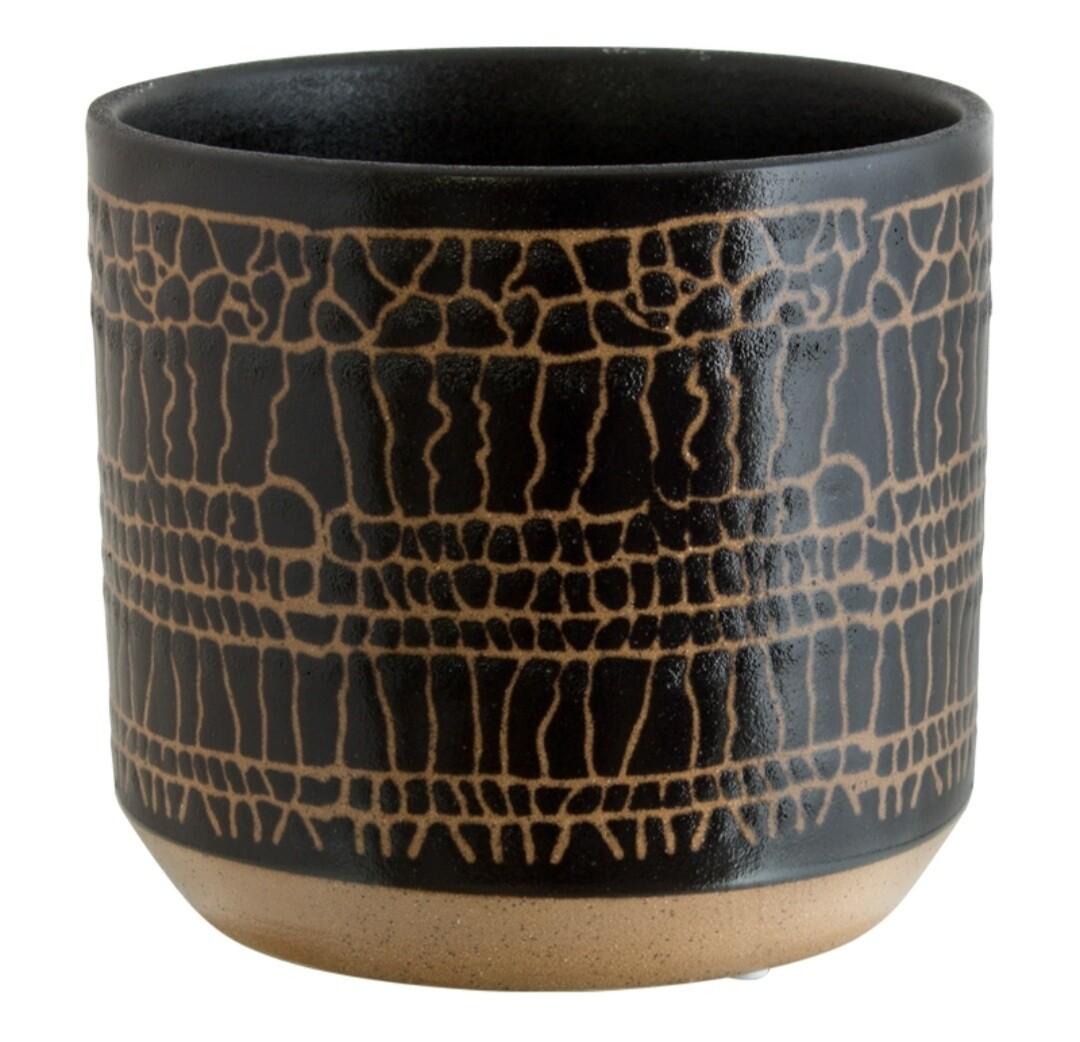 Black / Gold Pot