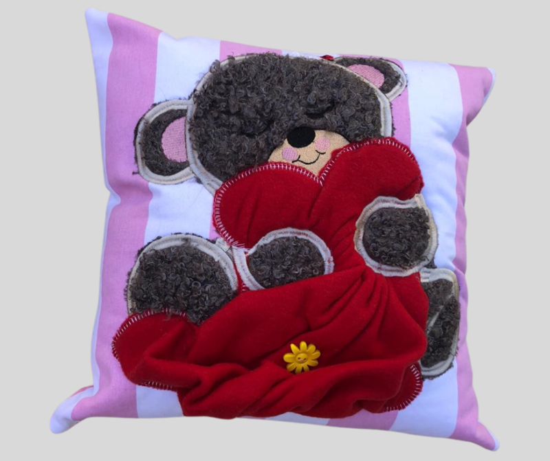 KUSSING VIR DOGTERS/ PILLOW FOR GIRLS