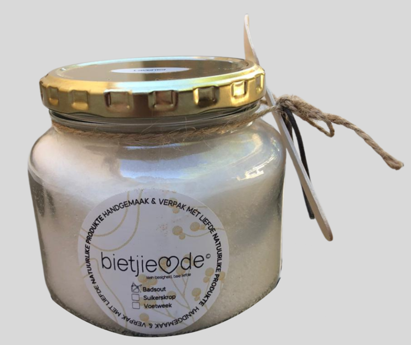 BIETJIE LIEFDE BADSOUT/ BATH SALT