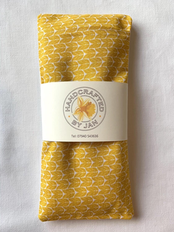 Eye Pillow - Yellow Chevron (2 avail)