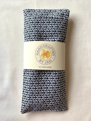 Eye Pillow - Blue Chevron (1 avail)