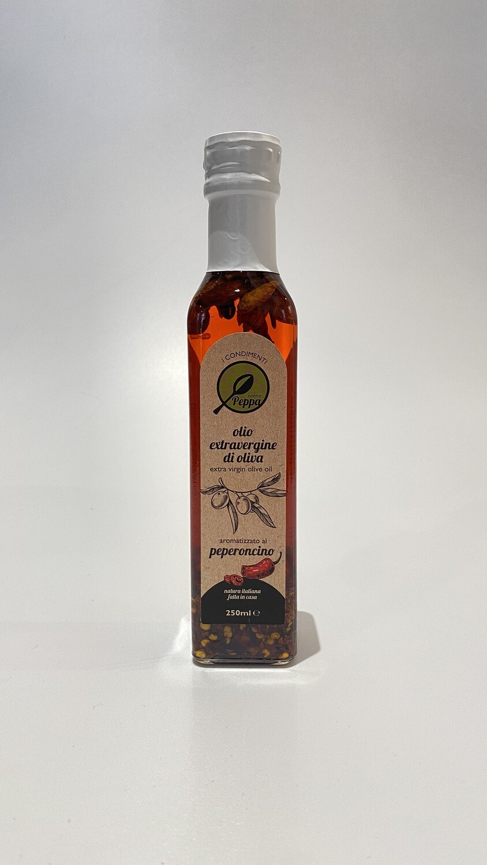 Olio EVO Aromatizzato al Peperoncino