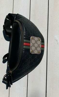 Authentic Upcycled Designer Fanny Pack