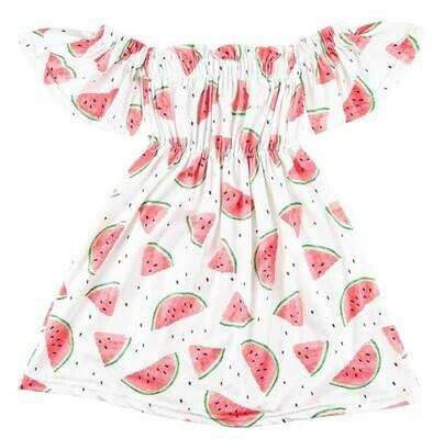 Watermelon Off the Shoulder dress