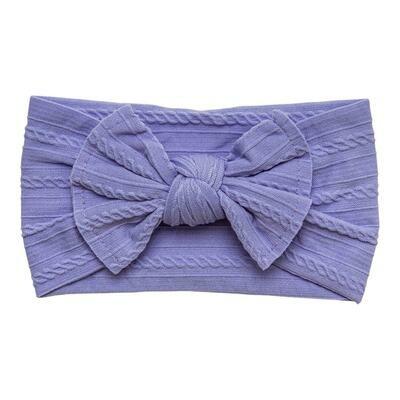 Cable Knit Nylon Headwrap
