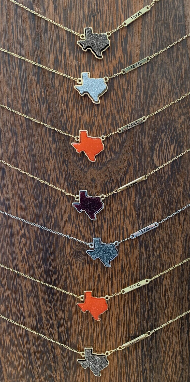 Druzy TX Necklaces