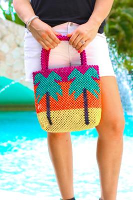 Maldives Beaded Bag - Multi