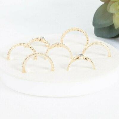 Kaylee 7 Piece Ring Set