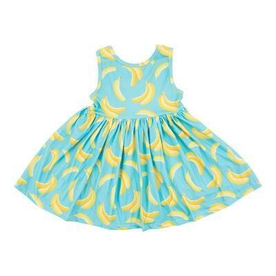 Going Bananas Tank Twirl Dress