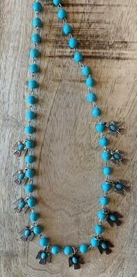 Thunderbird Turquoise Short Necklace
