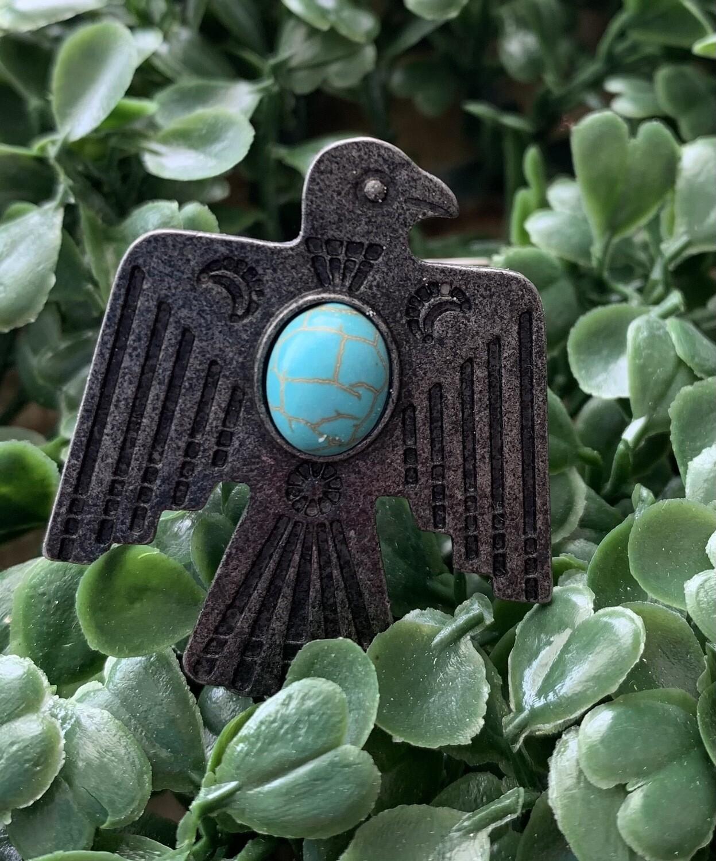 Turquoise Eagle Ring