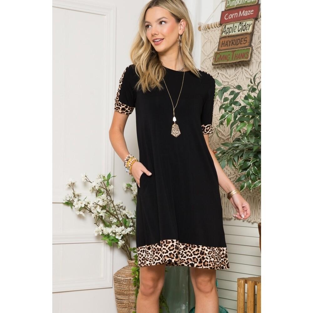 Black/Leopard Plus