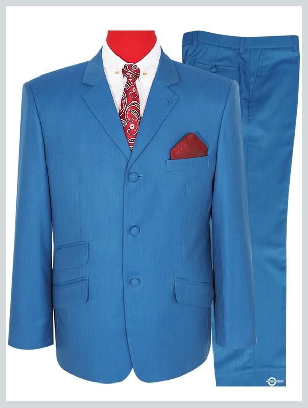 Deep Sky Blue B Mod Clothing Mod Suit