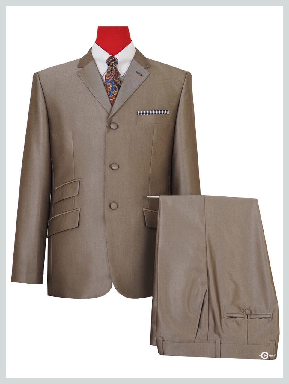 tonic suit|mod clothing 60s fashion gold tonic suit for men