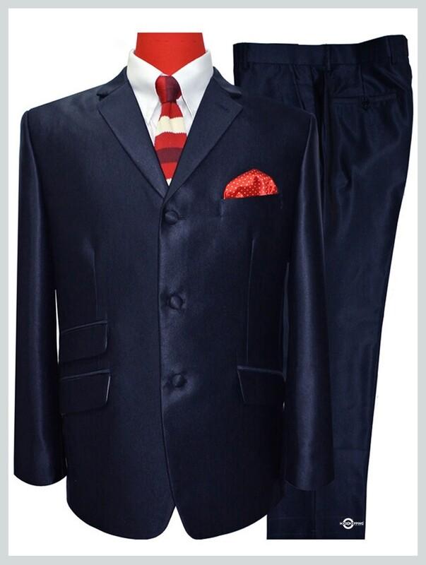 tonic suit|dark navy blue mod tonic suit for men