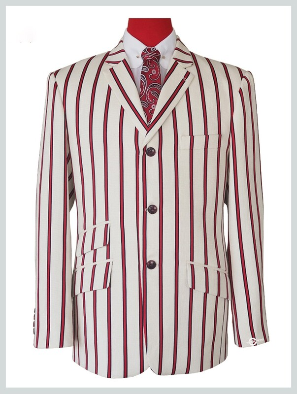 Off-White Striped 60s Mod Blazer Jacket