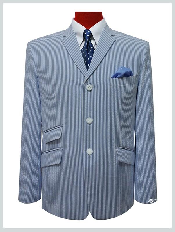 mod blazer|seersucker 3 button summer jacket for men,60s retro mod fashion