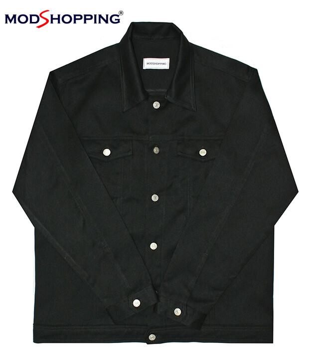 Vintage 50'S Denim Black Lee Jacket