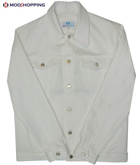 Vintage 50'S Denim White Lee Jacket