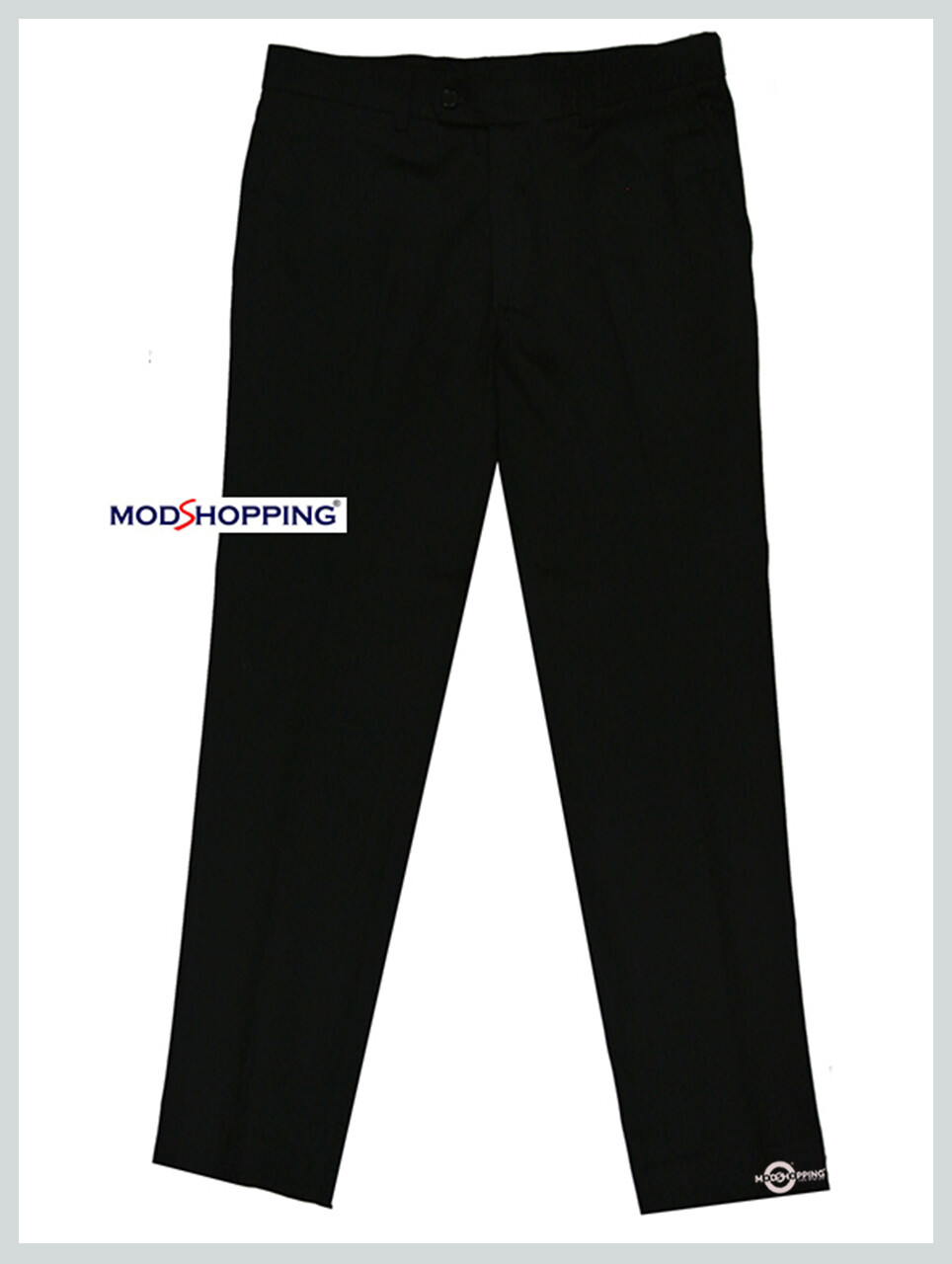 Sta Press Trousers| Classic Black Cotton Mens Casual Trouser