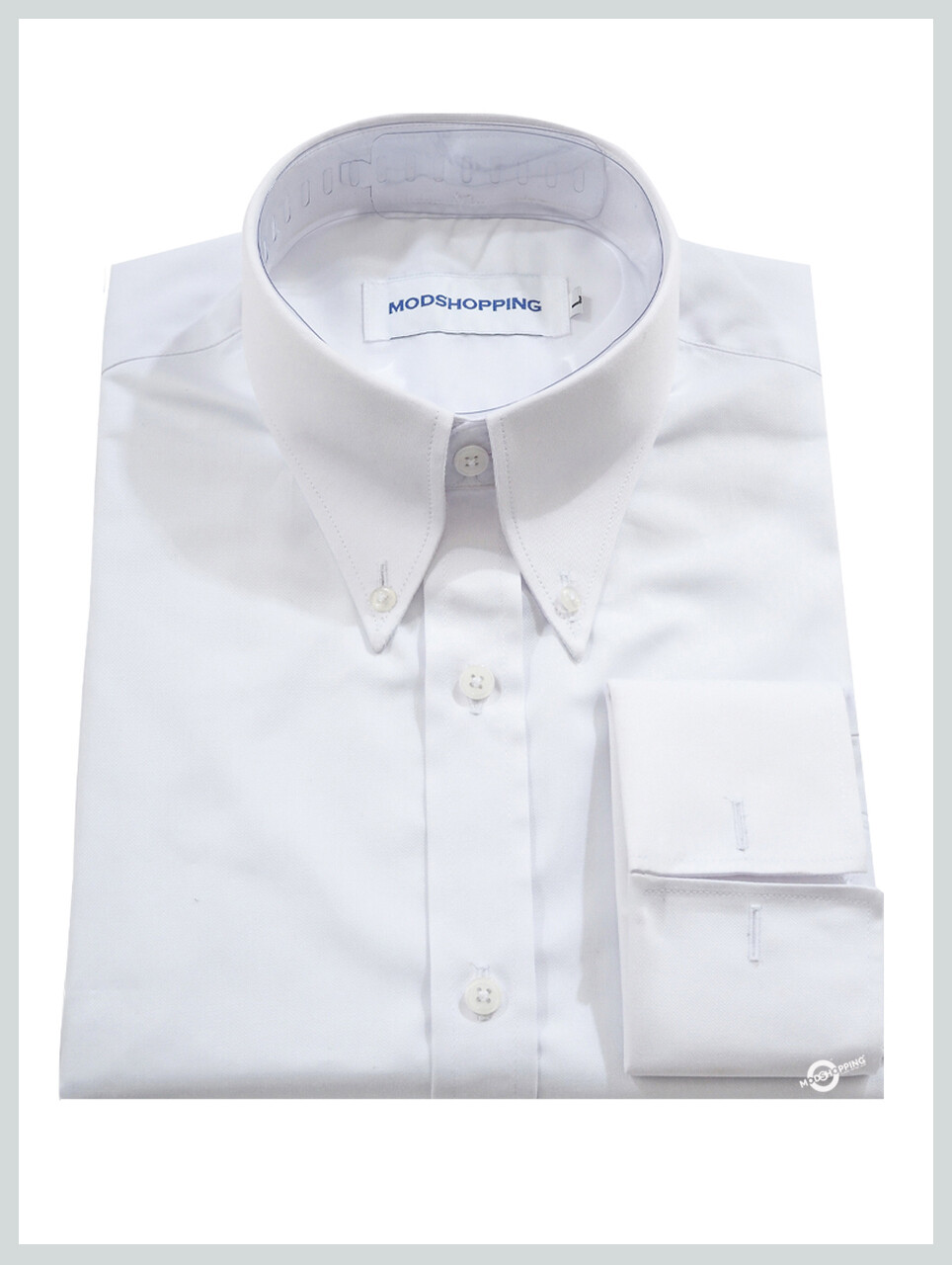 High Collar White Shirt| Formal Shirts For Men