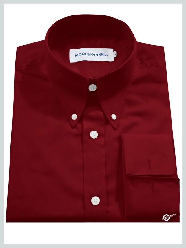 High Collar Red Shirt  Formal Shirts For Men