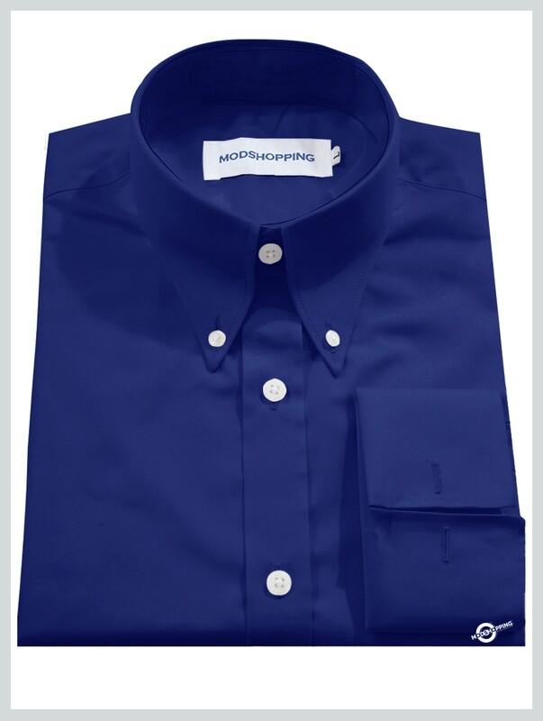 High Collar Blue Shirt  Formal Shirts For Men