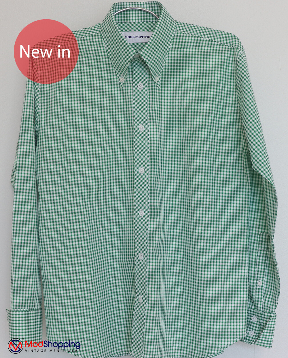 Green Gingham Shirt|Green Long Sleeve Gingham Shirt Uk