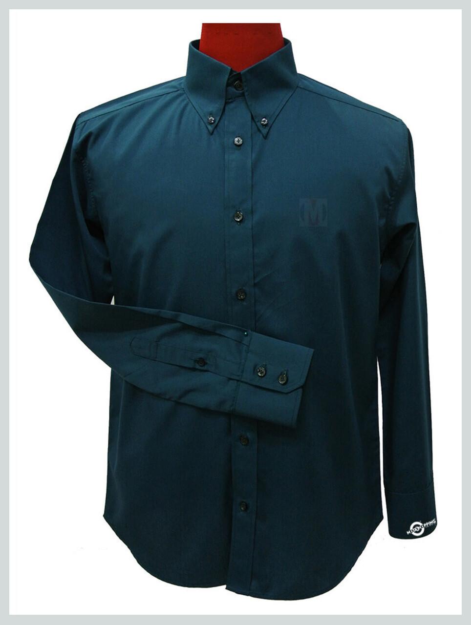 Button Down Shirt| Green Colour Button Down Shirt For Men