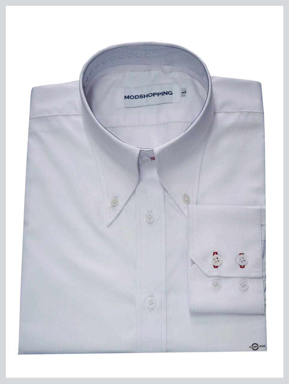 High Collar White Shirt| Formal Shirts For Men 60s Mod Style