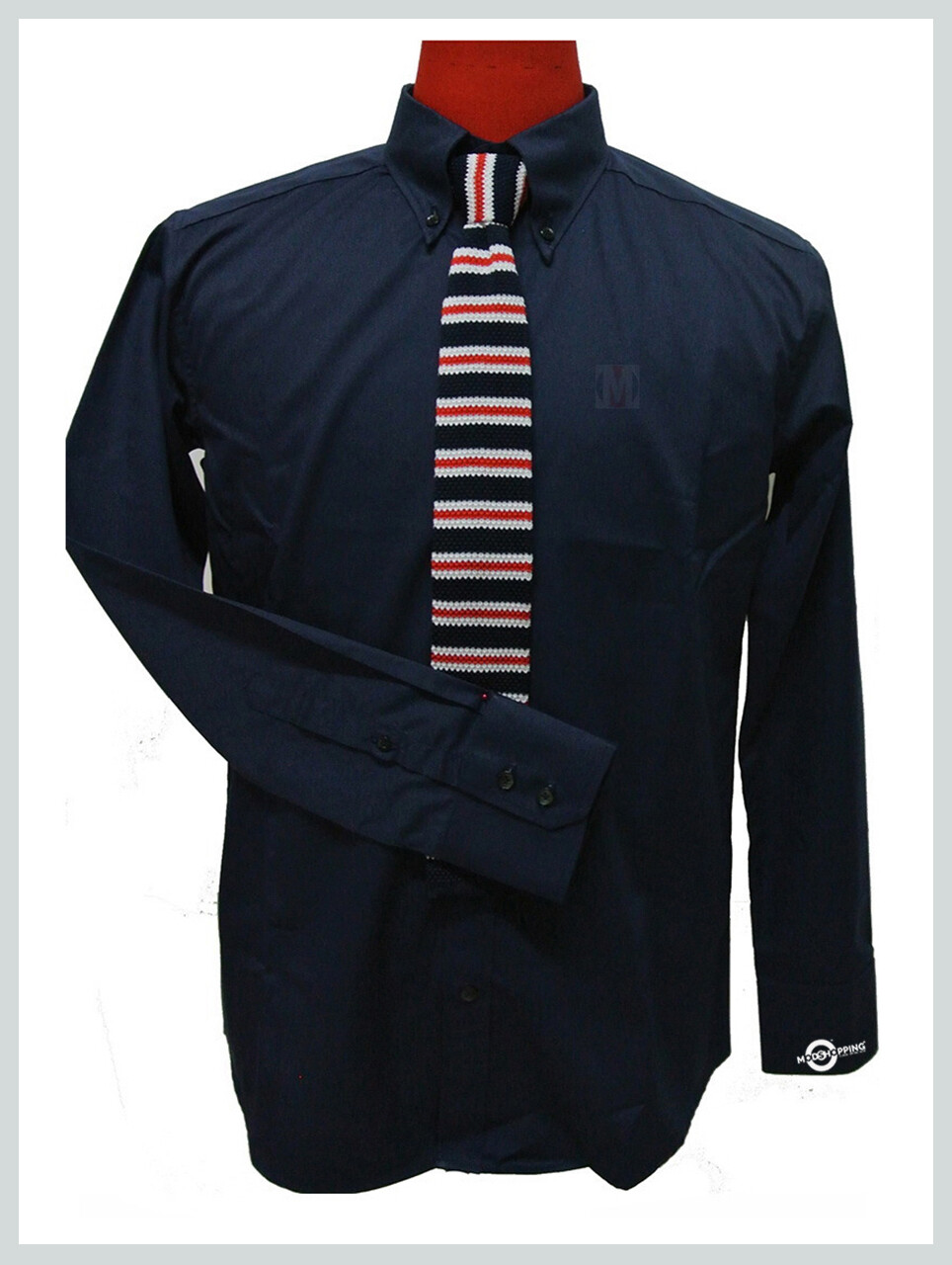 Button Down Shirt| Navy Blue Button Down Shirt For Men