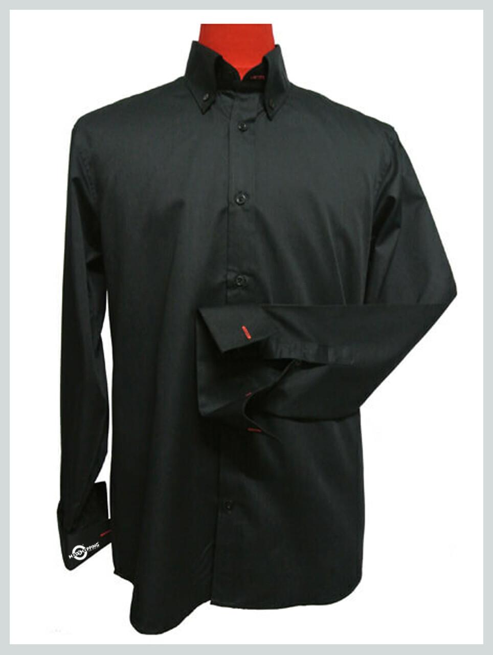Blck Button Down Shirt| Black Official Shirt For Men
