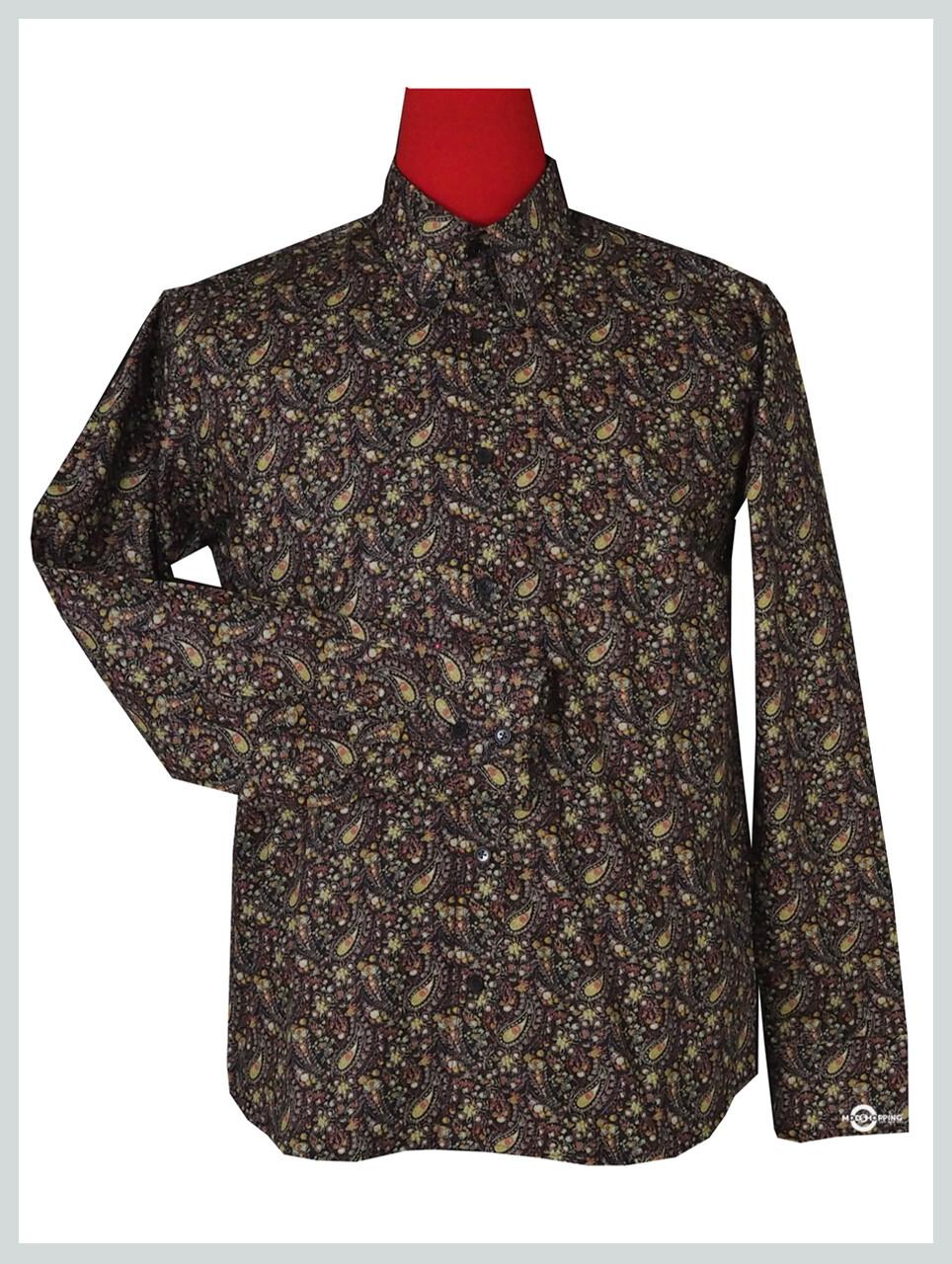 Paisley Shirt| Flower Pattern Shirt For Man