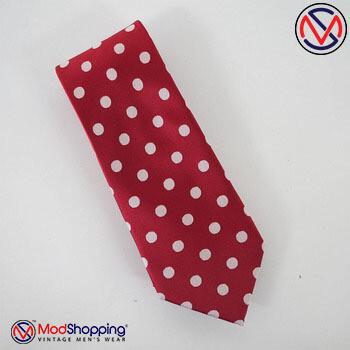Polkadot Neck Tie
