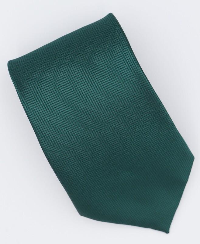 Green Silk Neck Tie