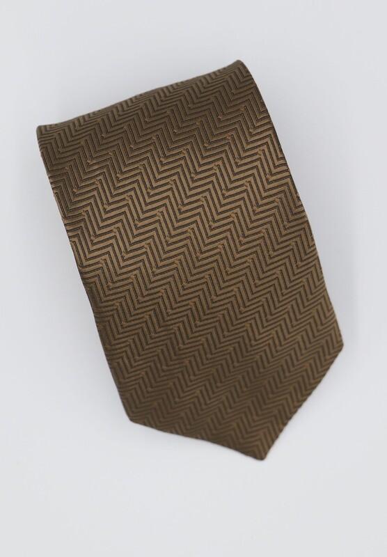 Golden Silk Tie
