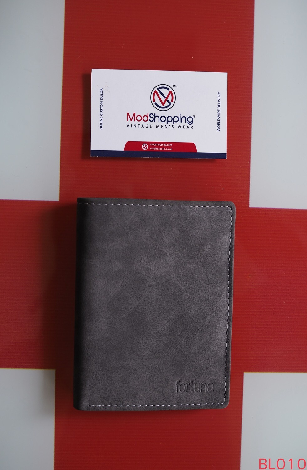 Short Wallet Gray Color