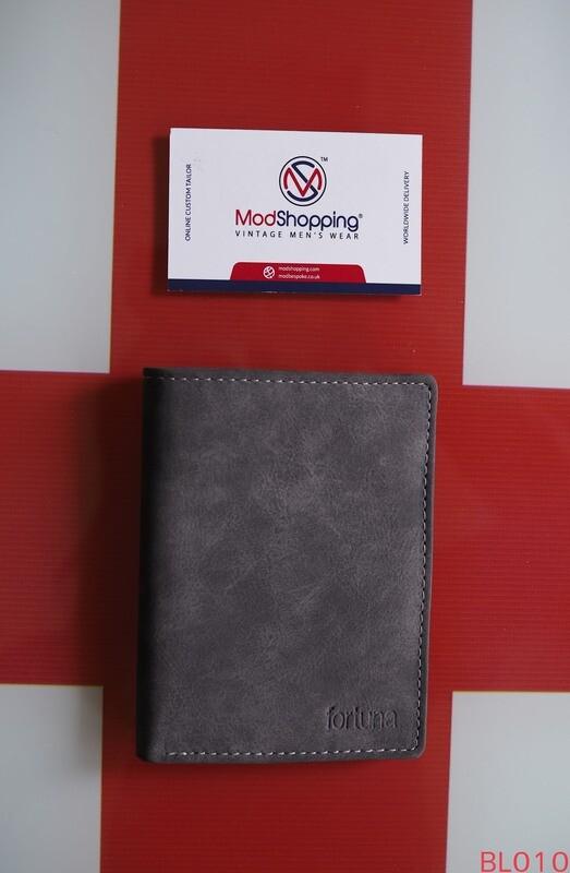 Short Wallet Gray Color