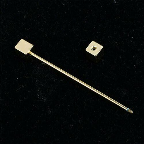 Mens Gold Collar Pin Bar For Mens Shirt | Collar Bar