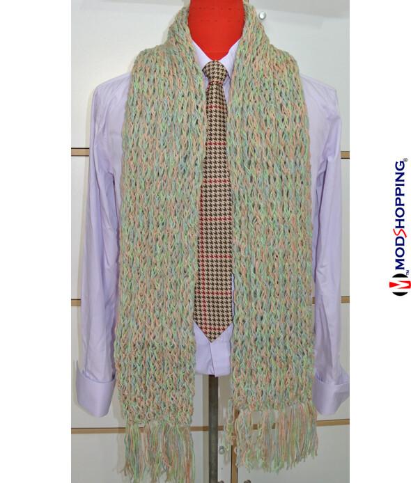 Tailored, Vintage Retro 60'S Mod Vintage Wool Soft Scarf For Men