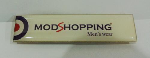 Pin Badges| Men's Slim Fit Modshopping Pocket Badge