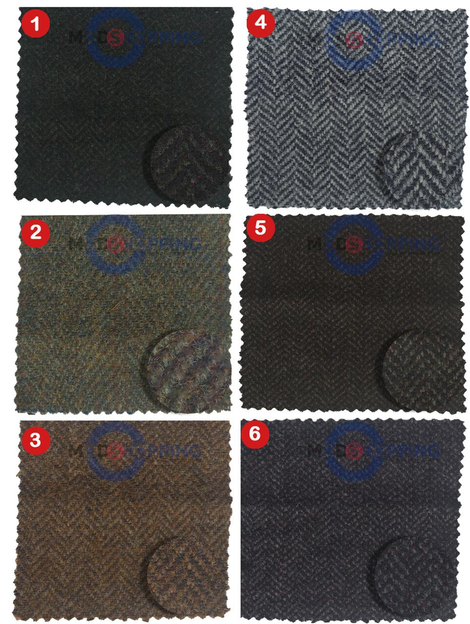 Custom Herringbone Tweed Jacket