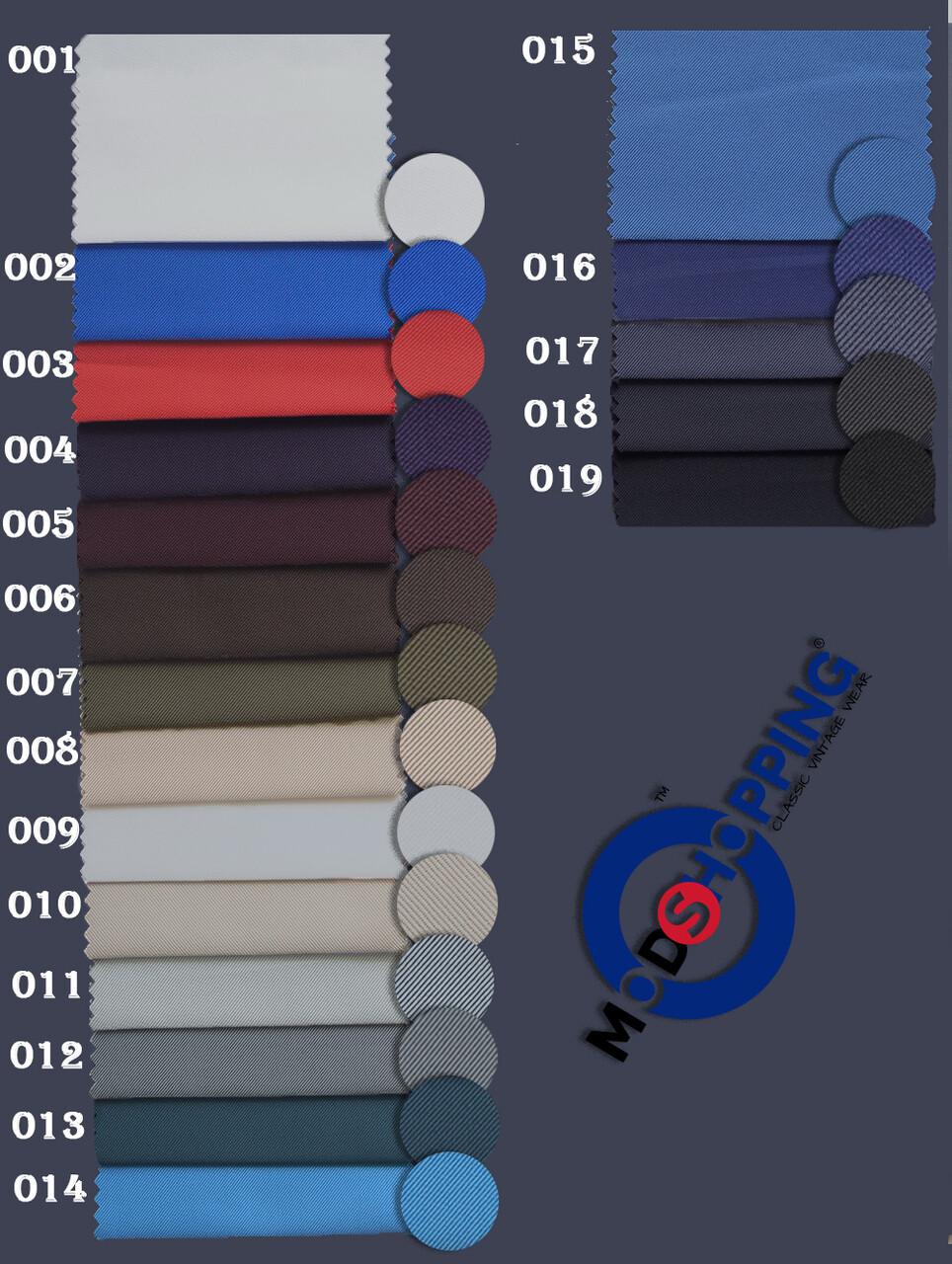 Custom 3 Piece Vintage Tonic Fabric Suit