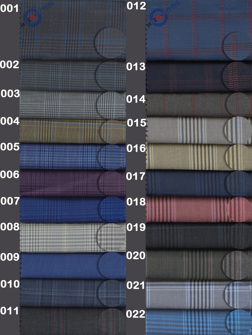 Custom Prince Of Wales Check Trouser