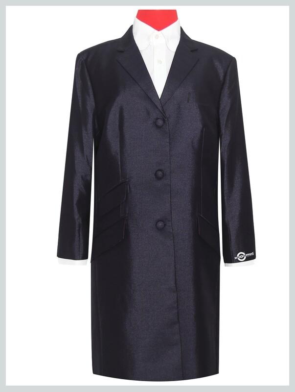 Vintage Style Purple Long Ladies Long Jacket