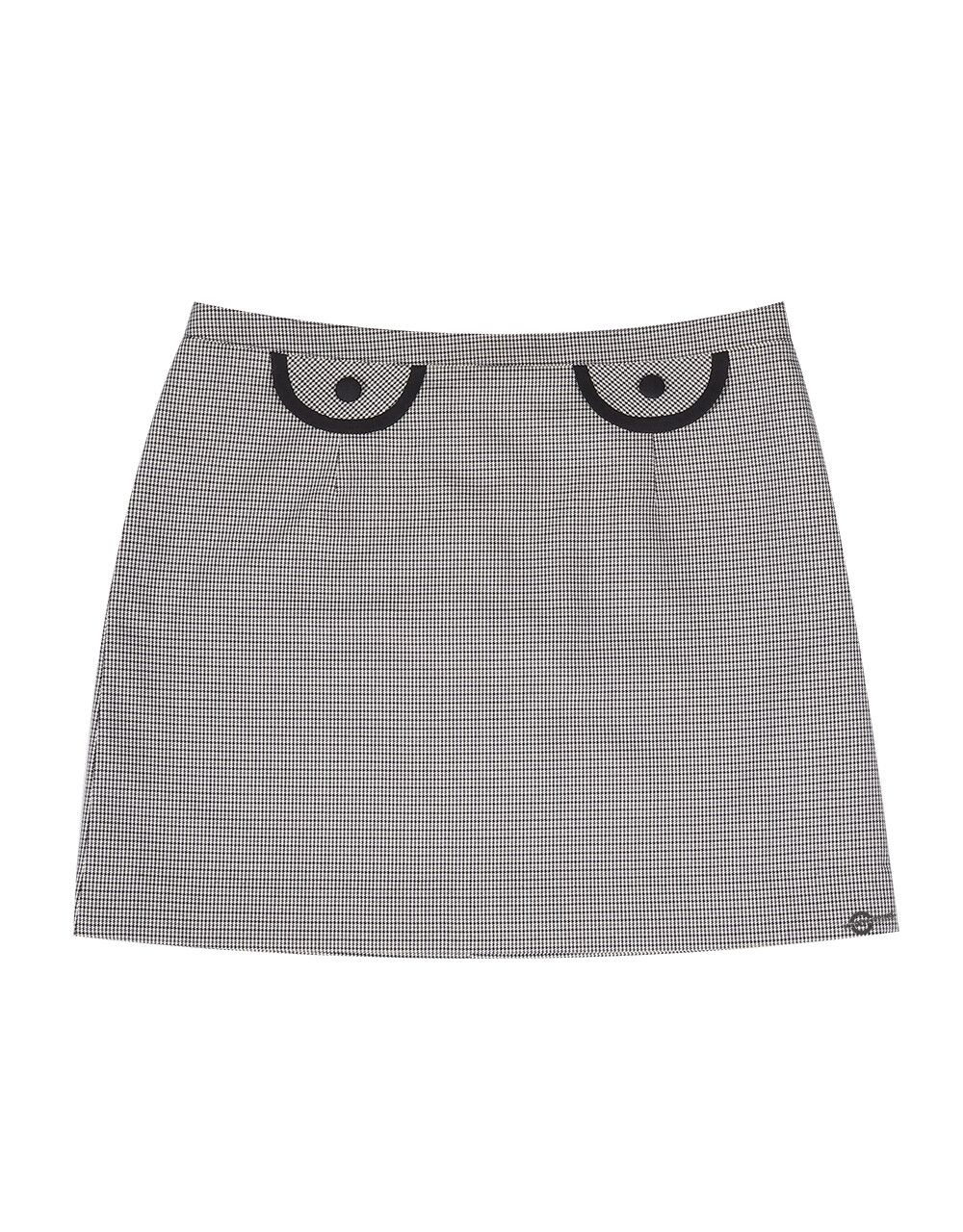 Dogtooth 60'S Ladies Flap Skirt