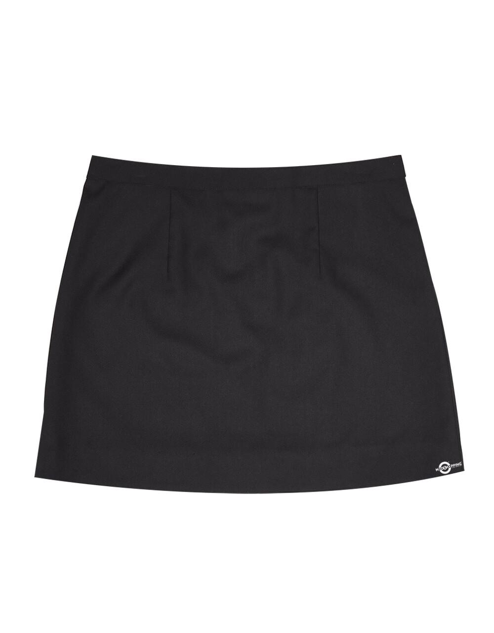 Classic Black Plain Skirt for women.