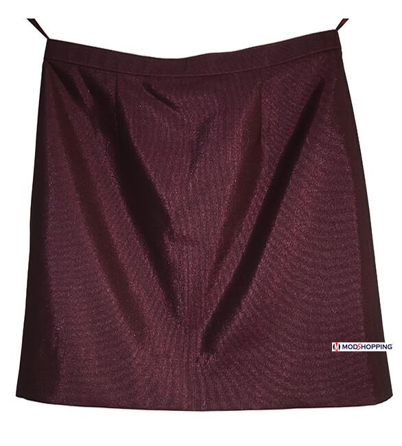 2 Tone Burgundy Tonic Skirt
